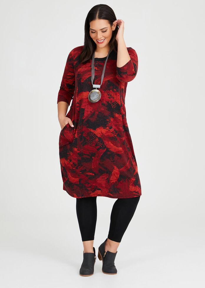 Shades Of Red Dress, , hi-res