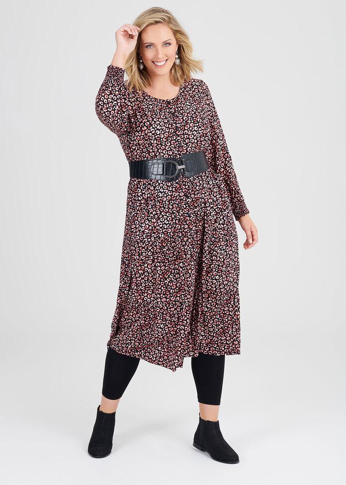 Natural Lindy Dress, , hi-res