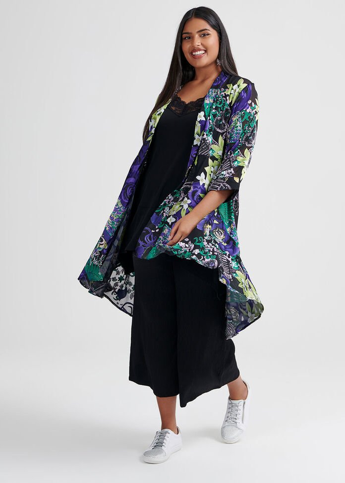 Madame Butterfly Cardi, , hi-res
