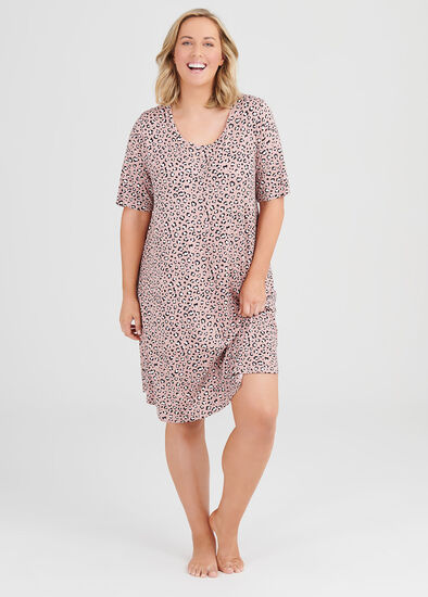 Bamboo Leopard Nightie