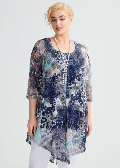 Ocean Warrior Lace Tunic