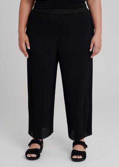 Pretty Pleat Crop Pant