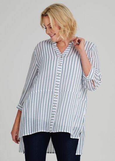 Resort Thin Stripe Shirt