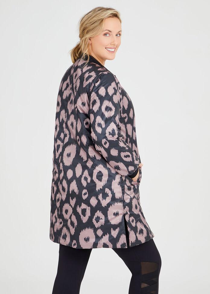 Reversible Ikat Jacket, , hi-res