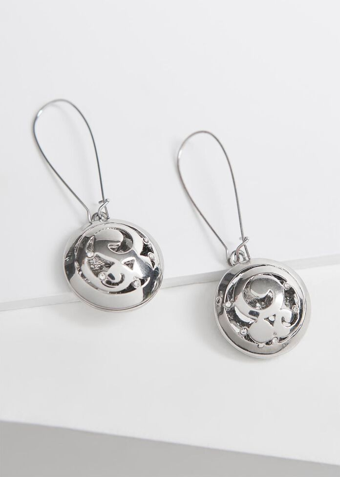 Ornate Orb Earrings, , hi-res