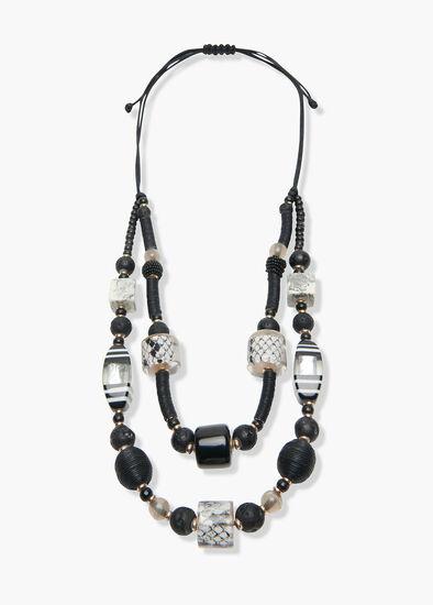 Resin Python Necklace