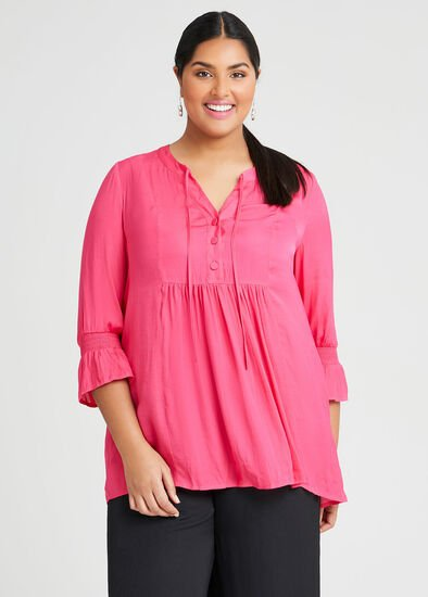 Luxe Avea Gathered Top
