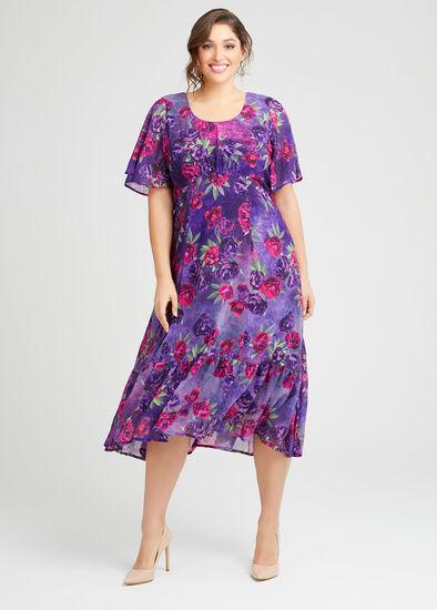Royal Ascot Floral Maxi Dress