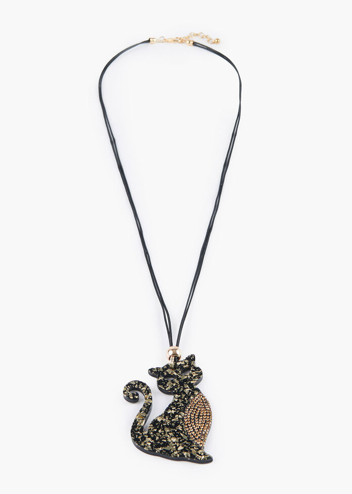 Pretty Kitty Necklace, , hi-res