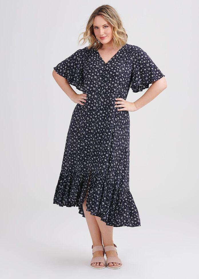 Natural Daisy Chain Dress, , hi-res