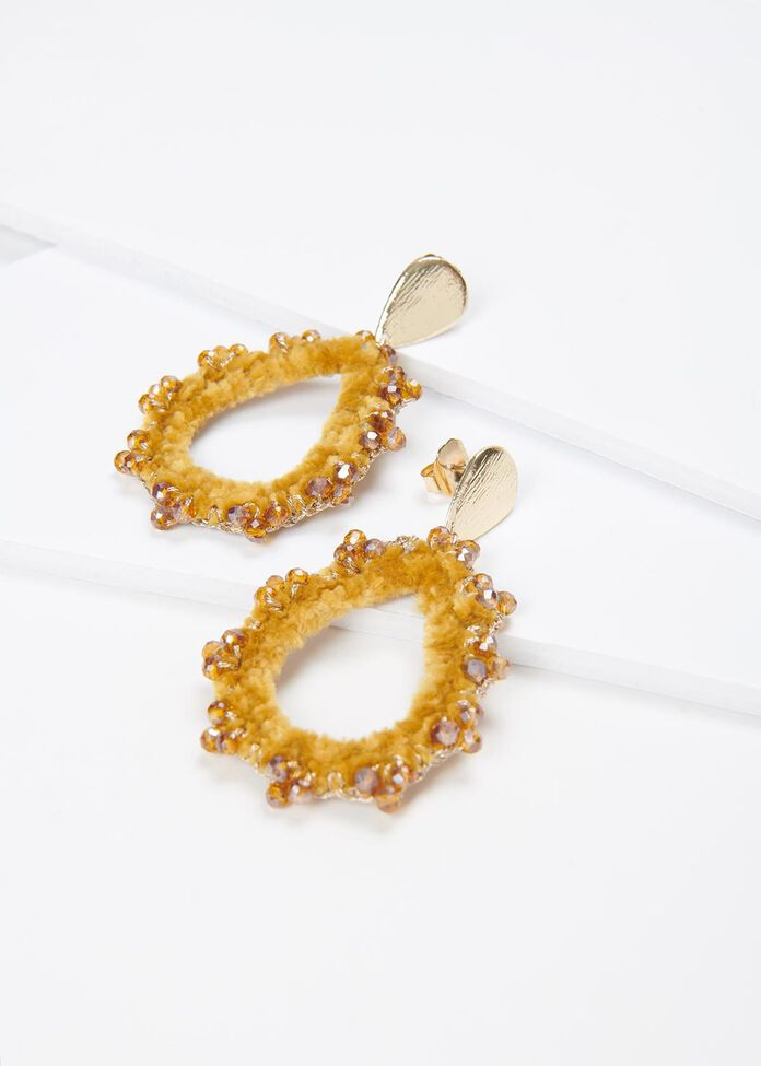 Sun Blaze Earrings, , hi-res
