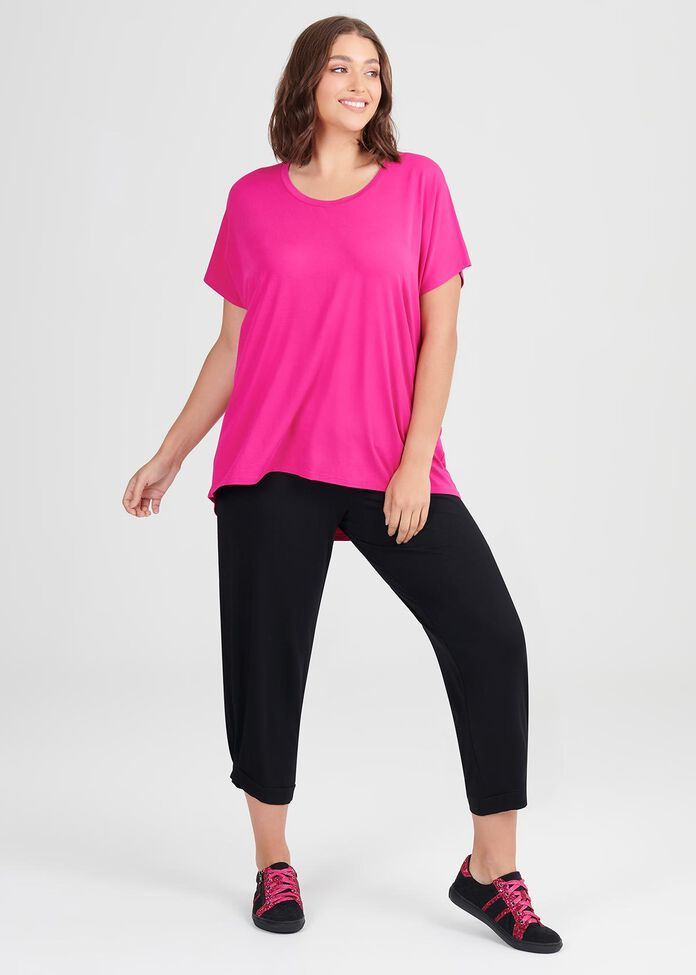 Bamboo Essential Top, , hi-res