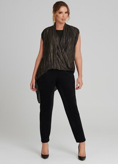 Linear Wrap Top