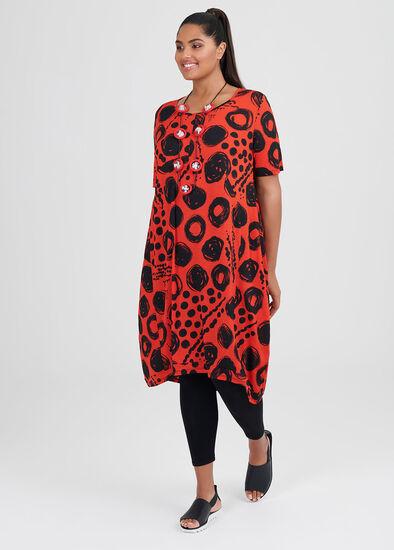 Coolum Spot Dress