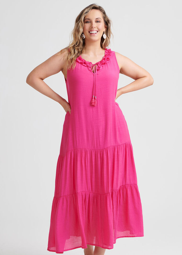 Escape With Me Maxi Dress, , hi-res