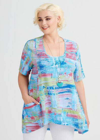 Island Hopper Viscose Top