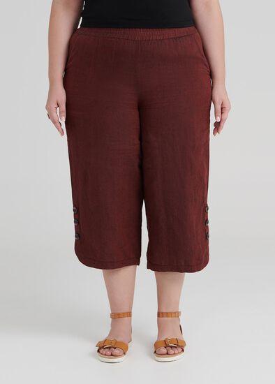 Gypsy Linen Crop Pant
