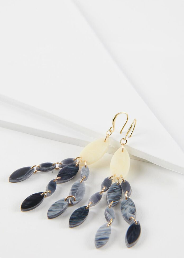 Marquise Drop Earrings, , hi-res