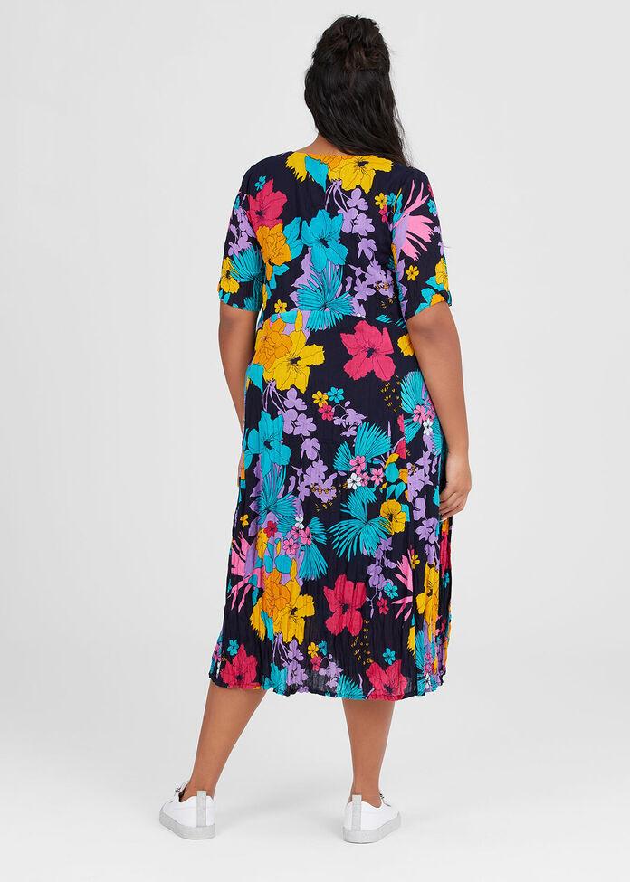 Cotton Florissimo Dress, , hi-res