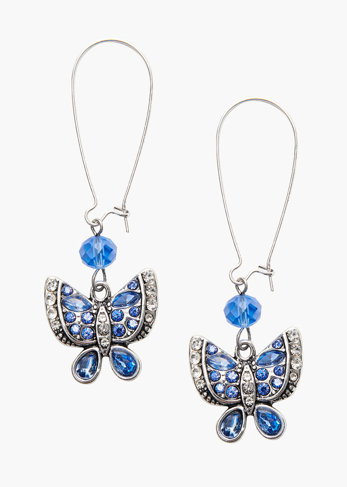 In A Flutter Earrings, , hi-res