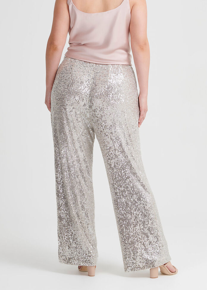 Sparkle And Shine Wide Leg Pant, , hi-res