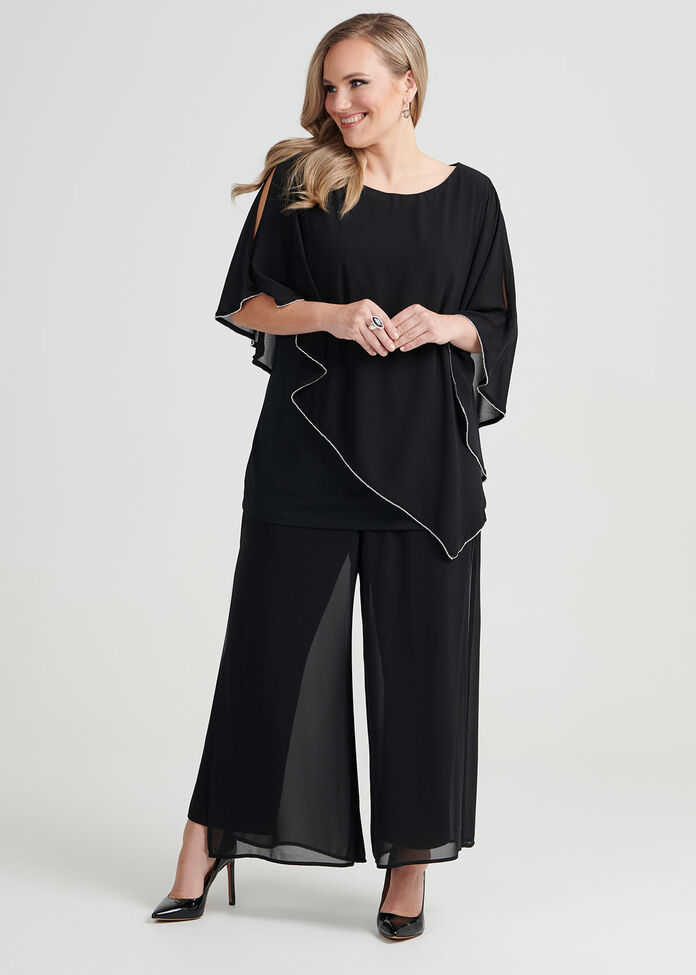Elsa Evening Pant, , hi-res