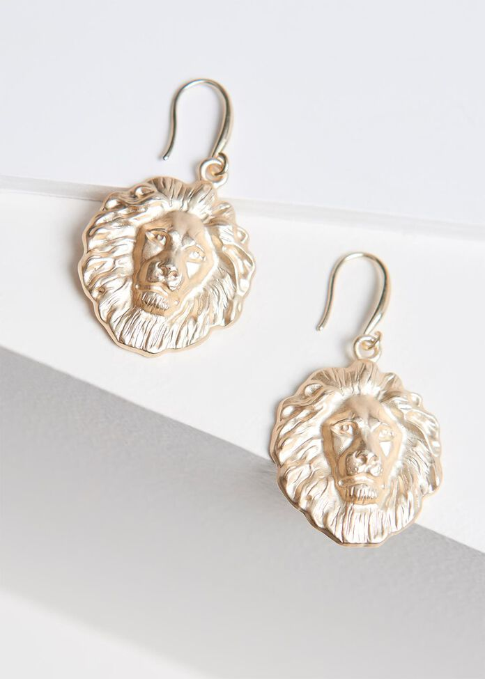 Hear Me Roar Earrings, , hi-res