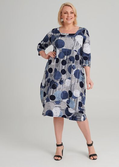 Oasis Spot Dress
