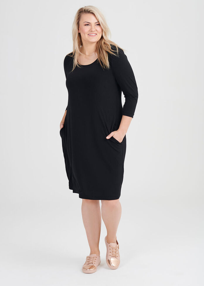 Luna Ultimate 3/4 Sleeve Dress, , hi-res