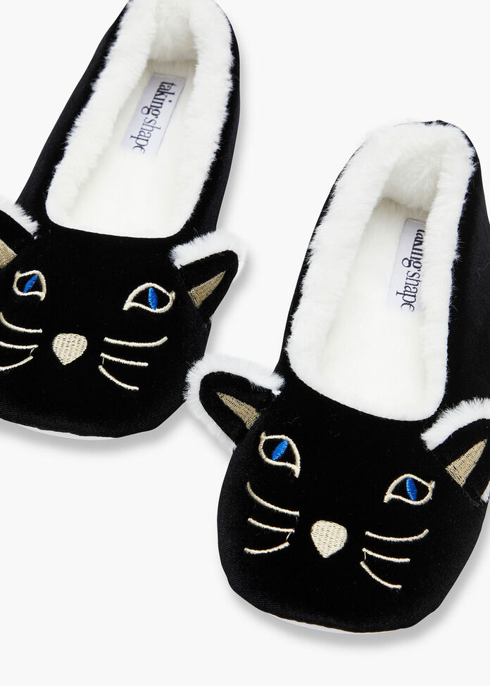 Kitty Slippers, , hi-res