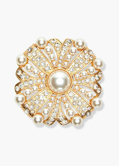 Pearl Bloom Brooch
