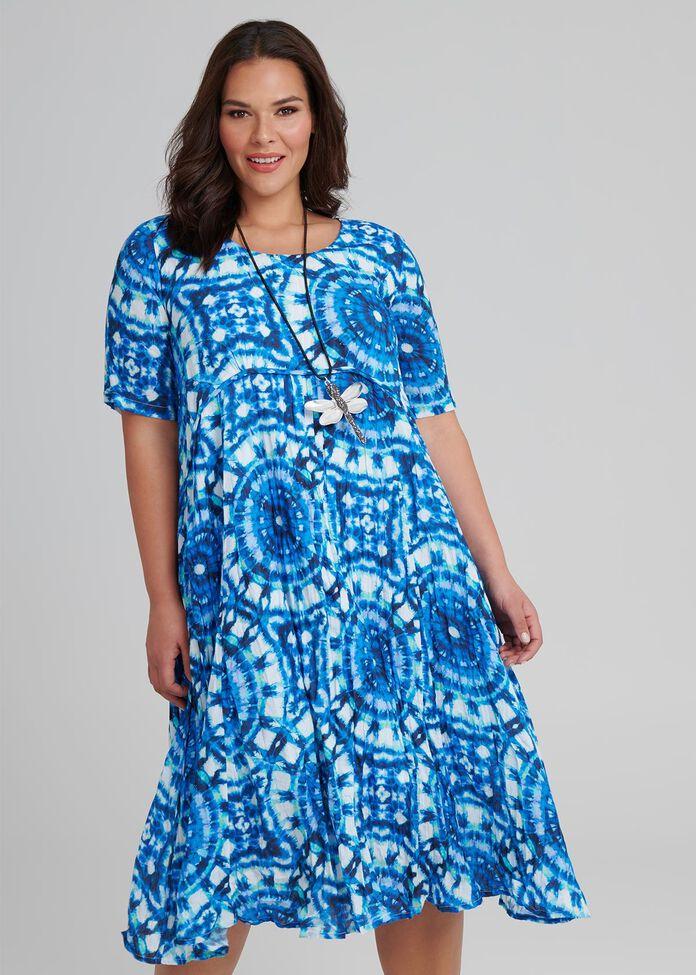 Sea Ripples Dress, , hi-res