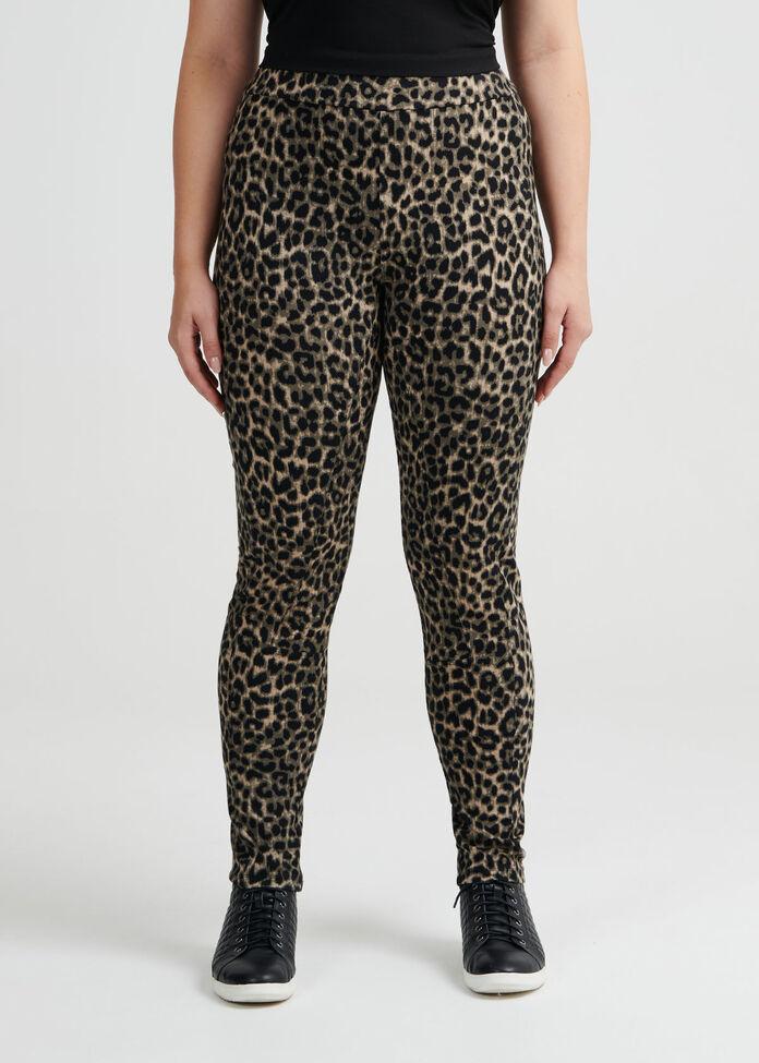 Leopard Ponti Pant, , hi-res