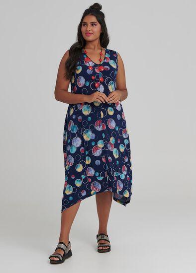 Ombre Spot Dress