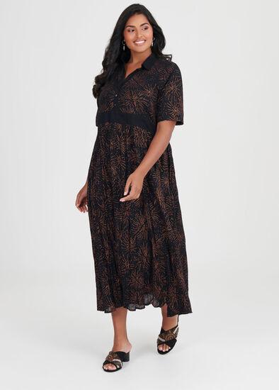 Cotton Sparks Maxi Dress