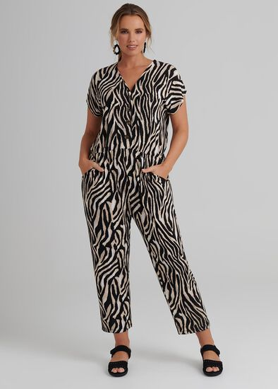 Zebra Bamboo Jumpsuit