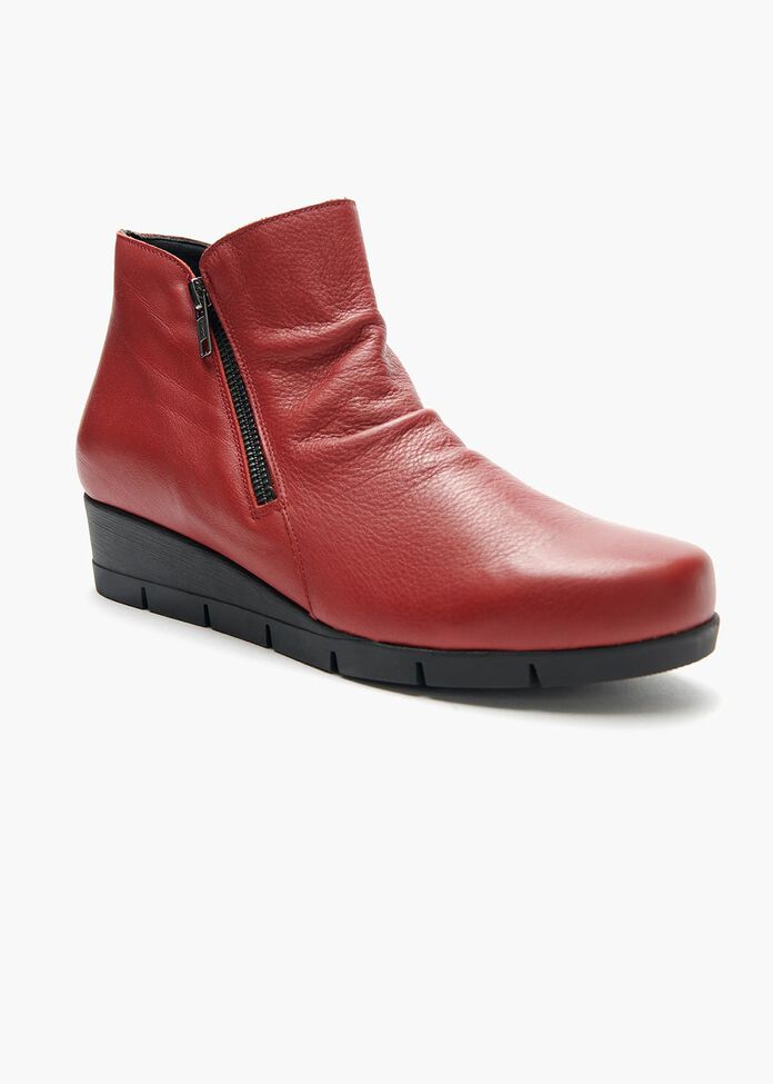 Emilia Ruched Ankle Boot, , hi-res