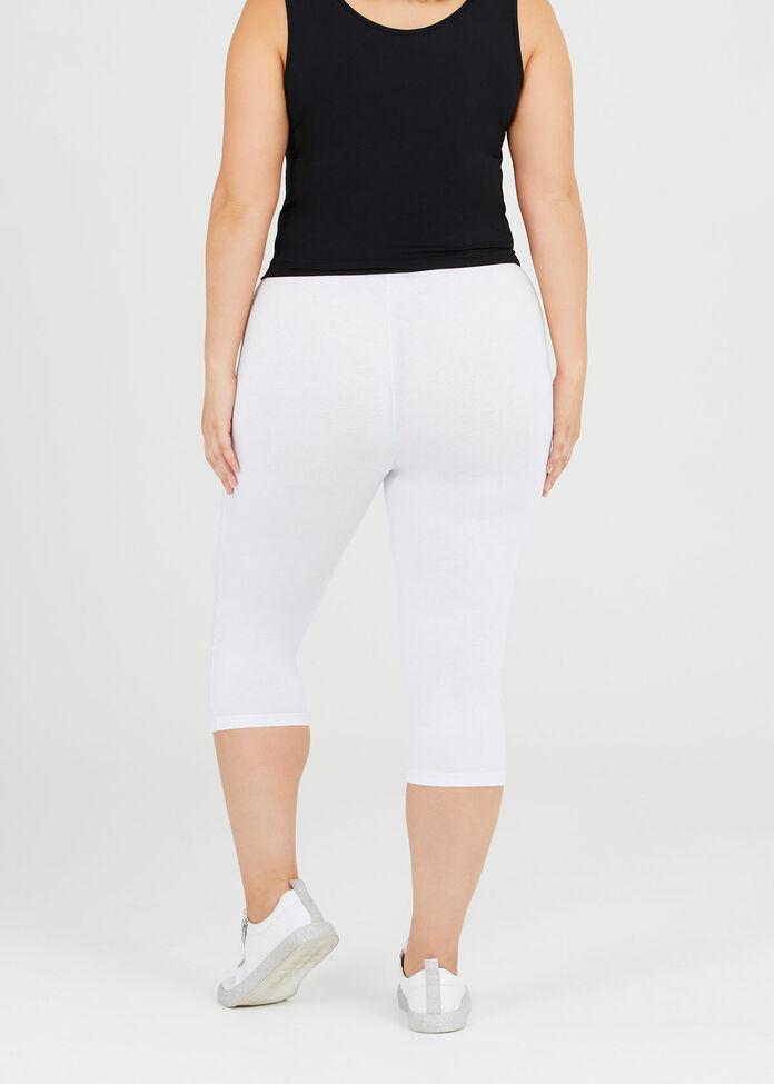 Organic Cotton Crop Legging, , hi-res