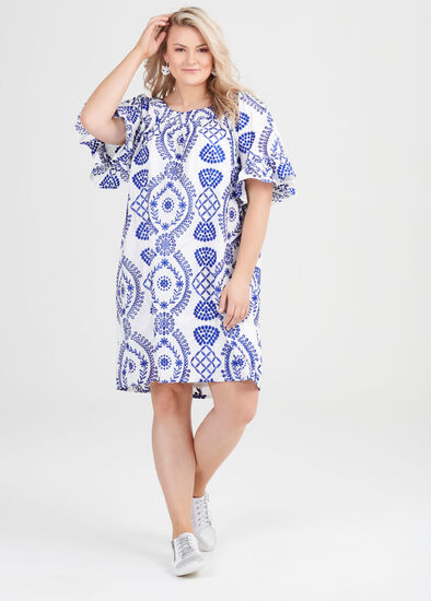 Cotton Broderie Dress