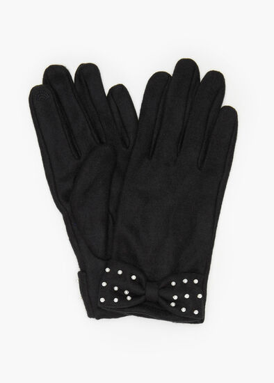 Pearl Bow Gloves