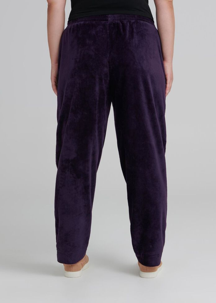 Velour Active Track Pant, , hi-res