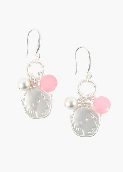 Coin Cluster Earrings