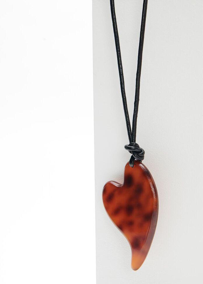Tortoise Heart Necklace, , hi-res