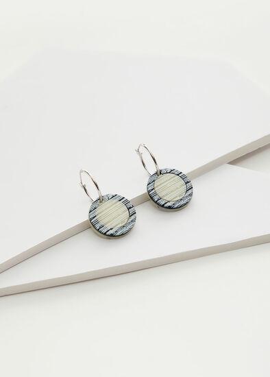 Monochrome Reversible Earrings