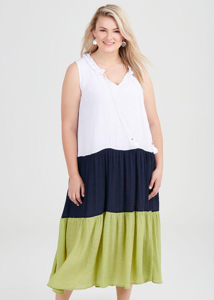 Terra Splice Maxi Dress, , hi-res