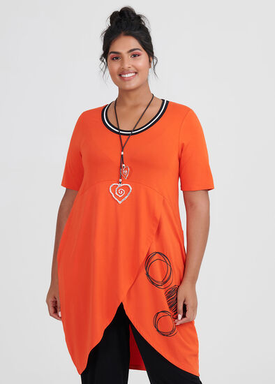 Take Me Away Spot Tunic