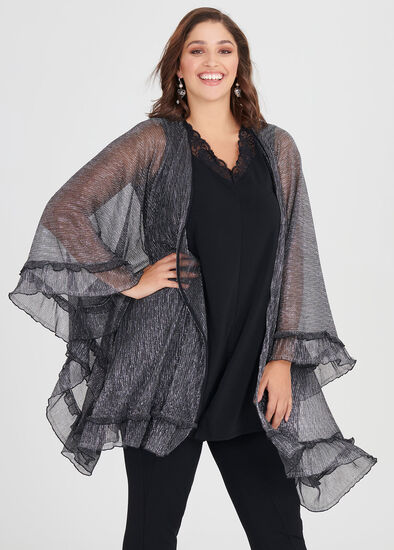 Frilled To Bits Cape