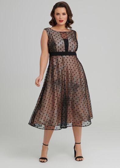 Overlay Cocktail Dress