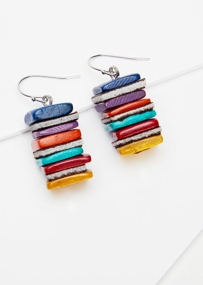 In The Square Earrings, , hi-res