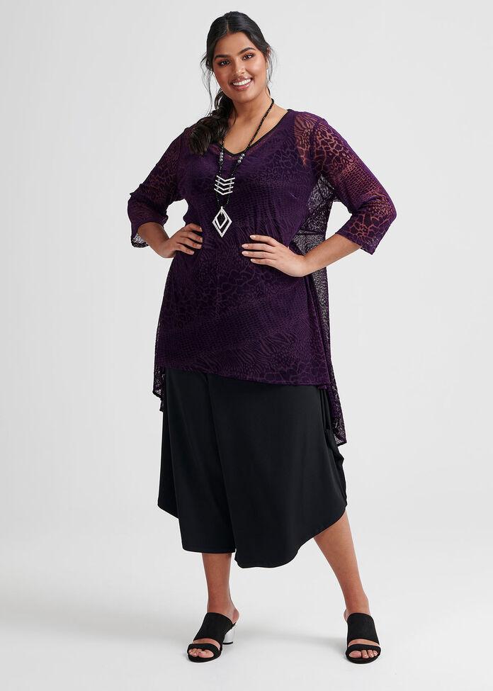 Donna Burnout Tunic, , hi-res
